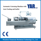 Automatic Cartoning Machine with Auto Feeding and leaflet