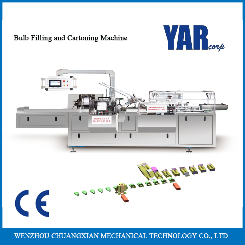 CZX-100B bulb cartoning packaging machine